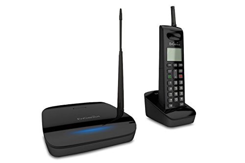 EnGenius FreeStyl 2 Technologies, 9 Handset Landline Telephone, 900 Mhz